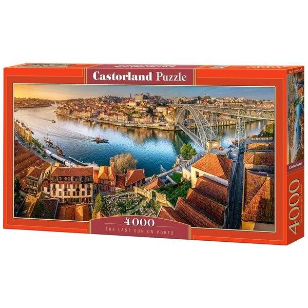 Puzzle El último sol en Oporto