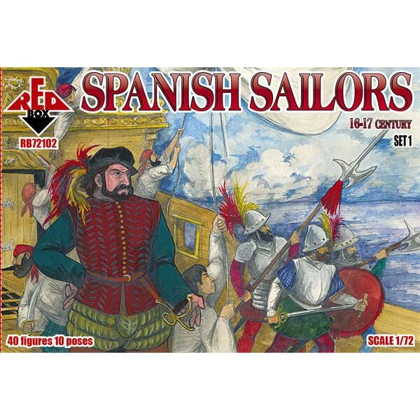 Marineros españoles 16-17 siglo