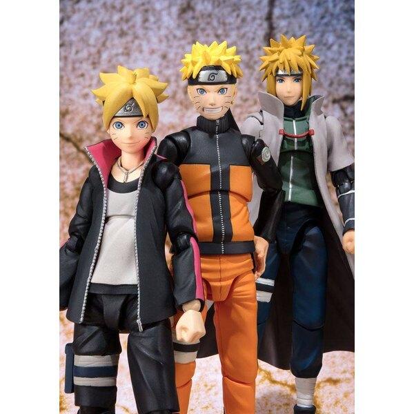 Naruto Figura S.H. Figuarts Naruto Uzumaki Sage Mode Advanced Ver. Tamashii Web Exclusive 14 cm