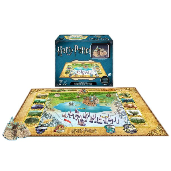 Puzzle 3d Harry Potter Puzzle 4D Large Hogwarts (1100 piezas)