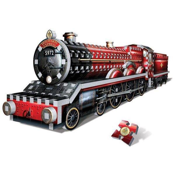 Puzzle 3d Harry Potter Puzzle 3D Built-Up PAD Demo Hogwarts Express