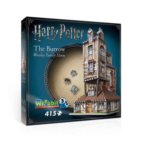 Puzzle 3d Harry Potter Puzzle 3D The Burrow (Weasley Family Home)