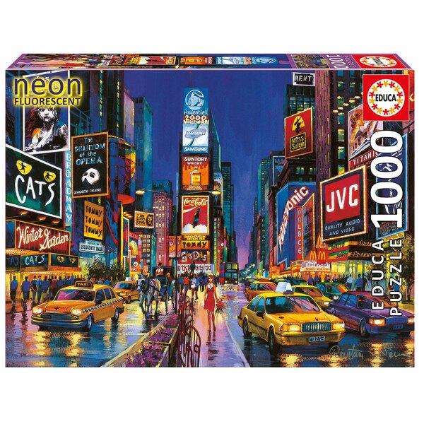 Puzzle Neon Times Square,