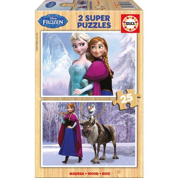 Puzzle La reine des neiges