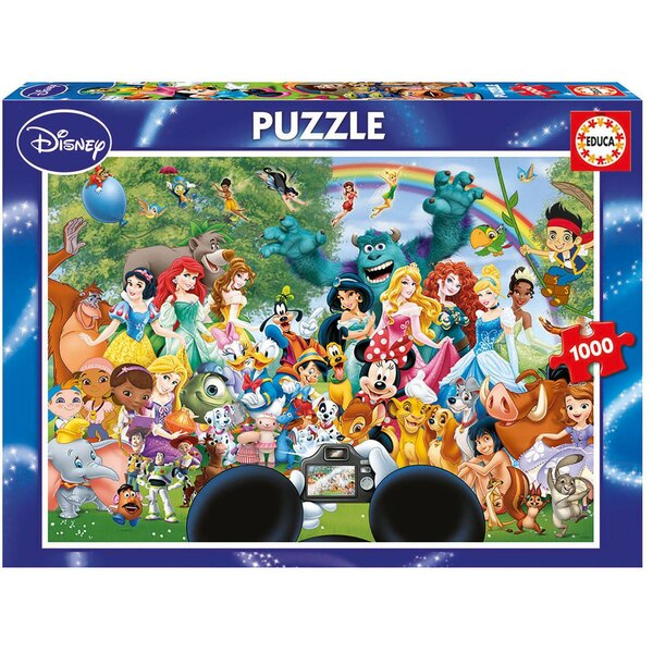 Puzzle Le merveilleux monde de disney ii
