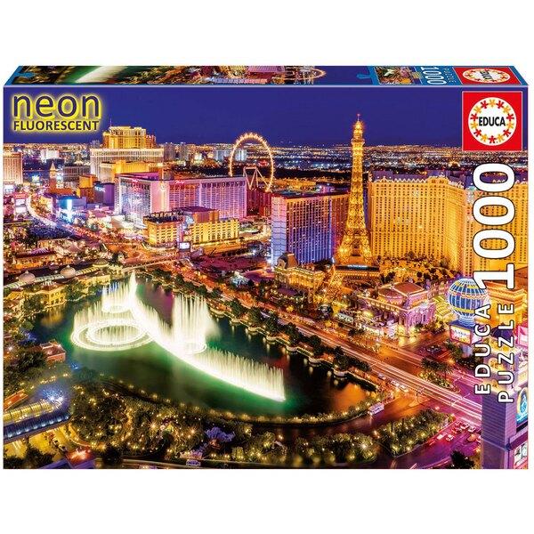 Puzzle Neón de Las Vegas