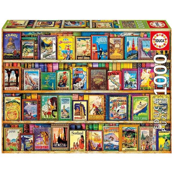 Puzzle Voyage autour du monde