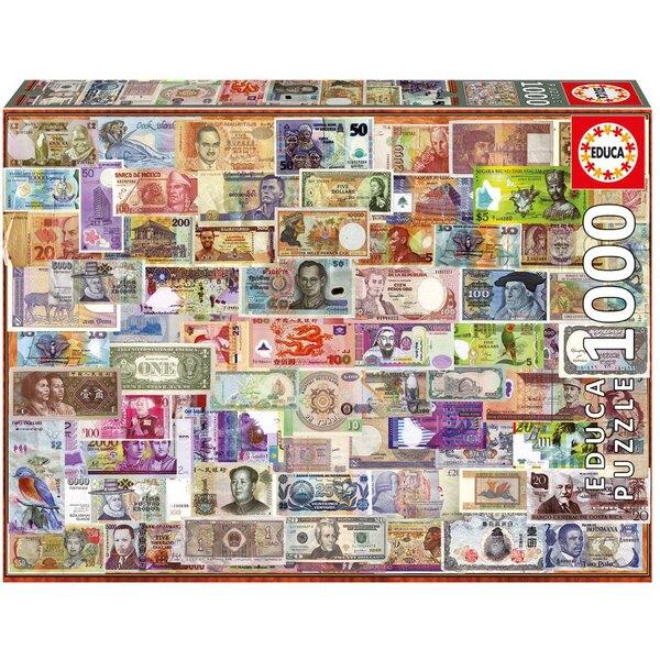Puzzle Billets du monde entier