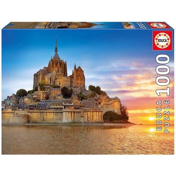 Puzzle Mont saint-michel, francia