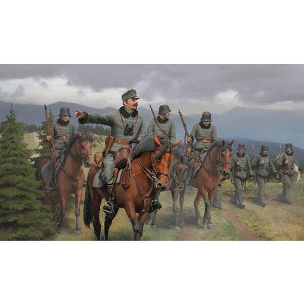 Austro-Húngaro Honved Cavalry WWI (este es un número de stock antiguo, pero no se ha utilizado antes)
