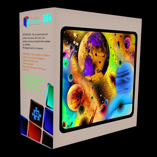 Puzzle 3d Puzzle 3D - 48 piezas - espacio