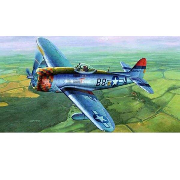 """P-47D """"PARTE POSTERIOR"""""""