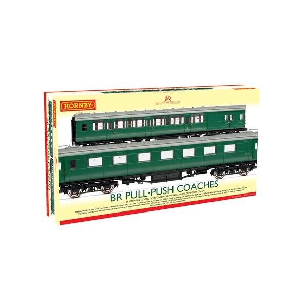 BR, (Ex-Maunsell) Paquete Pull / Push Coach, Set 601 - Era 5
