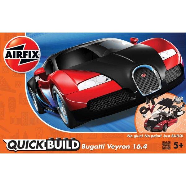 QUICKBUILD Bugatti Veyron - Noir y Rouge