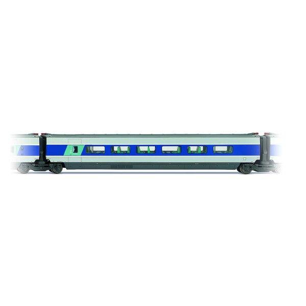 Entrenador intermedio TGV South -Est. Segunda clase Entregado azul y gris metal
