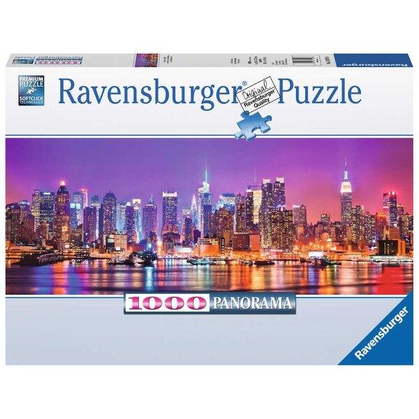 Puzzle Las luces de Manhattan (Panorama)