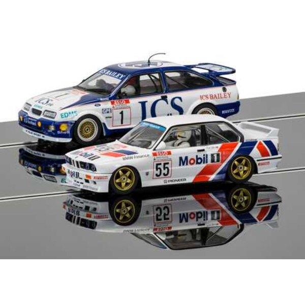 Pack de dos leyendas para auto Touring Car - Ford Sierra RS500 y BMW E30 - Edición limitada