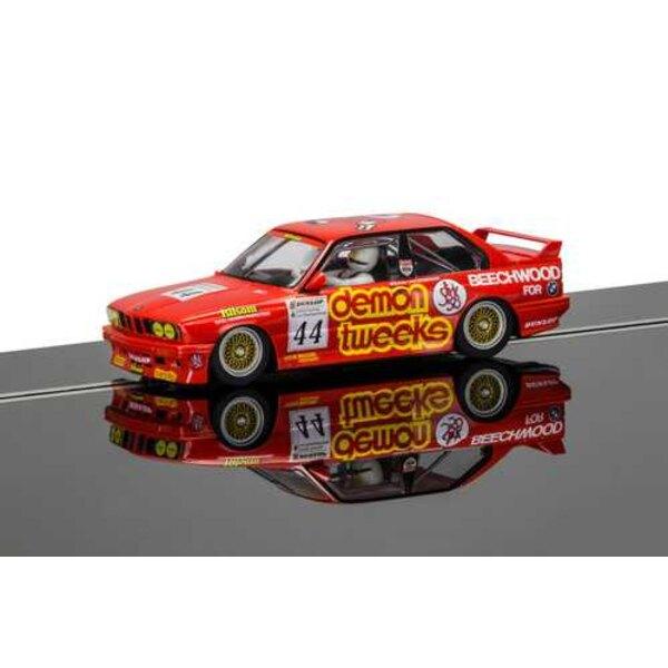 BTCC BMW E30 M3 - Roland Ratzenberger, Hatch Brands 1988