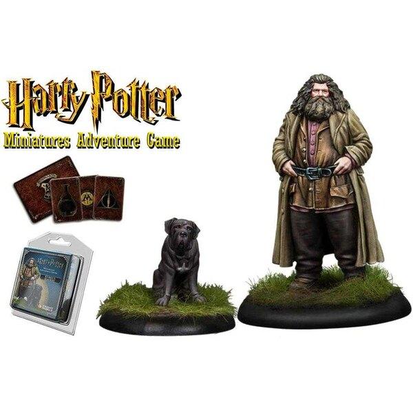 Harry Potter Pack de 2 Miniaturas 35 mm Rubeus Hagrid *Edición Inglés*