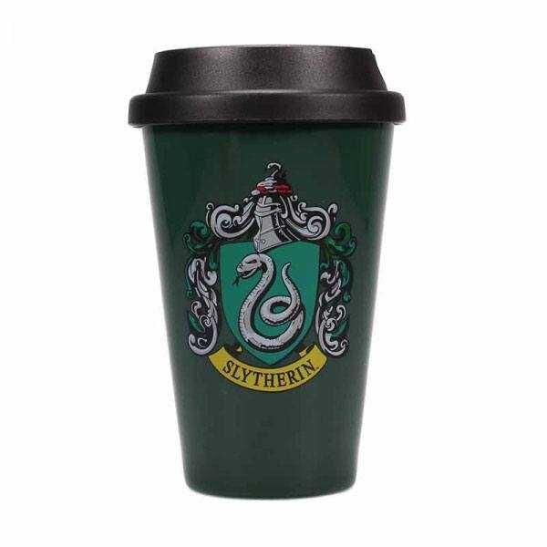 Harry Potter Taza de Viaje Slytherin