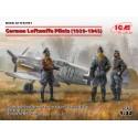 German Luftwaffe Pilots (1939-1945) (3 standing figures) (100% new molds)
