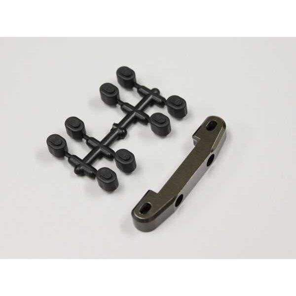 Stop aluminio posterior trasero opcion rb6-rb7 ancho - gun metal