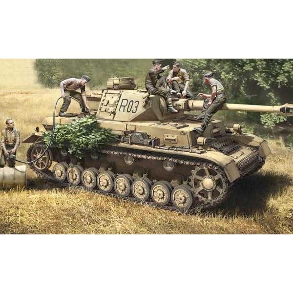 Panzer IV F1 / F2 / G y Tropas