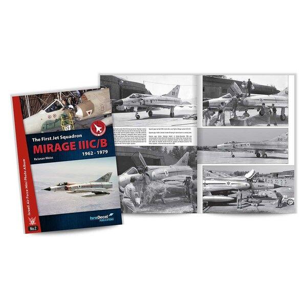 """Libro El primer Jet Squadron Mirage IIIC / B desde 1962 hasta 1979. El segundo título de nuestra última serie """"Mini álbum de fot"""