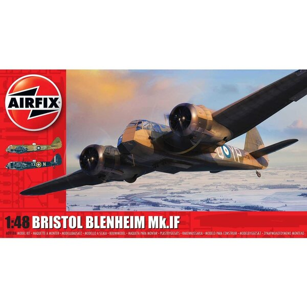 Bristol Blenheim Mk.IF NEW TOOLINGArguably one of the most significant aircraft of the inter war years, the Bristol Blenheim can