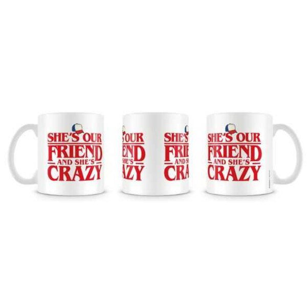 Stranger Things Taza She's Our Friends