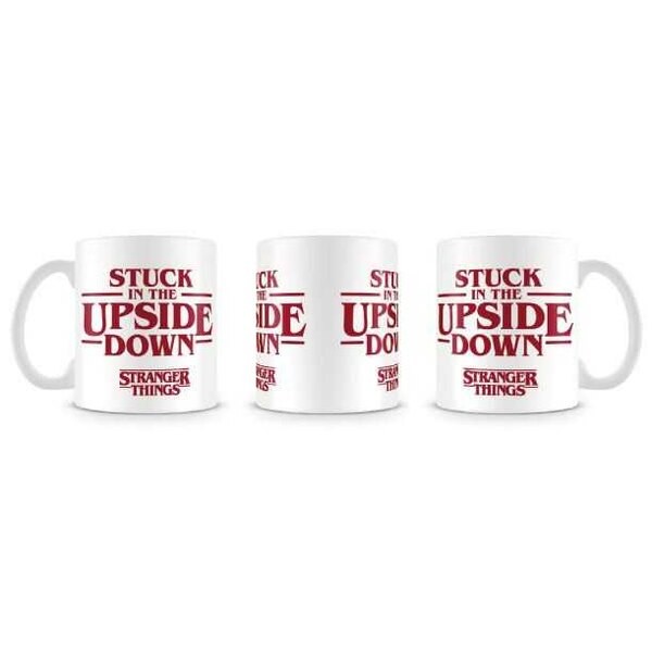 Stranger Things Taza Stuck In The Upside Down