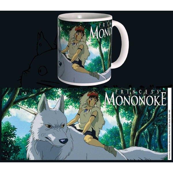 Studio Ghibli Taza Princess Mononoke