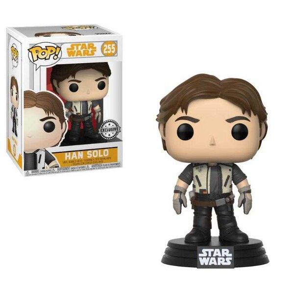 Star Wars Solo POP!Vinilo Bobble Head Han Solo 9 cm