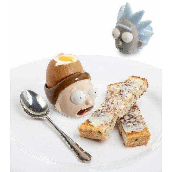 Rick & Morty pack 2 hueveras de cerámica Rick & Morty
