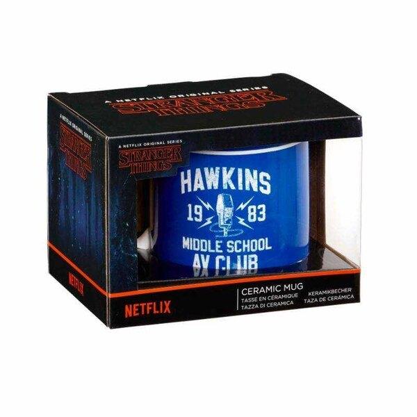 Taza del club AV de Hawkins de Stranger Things