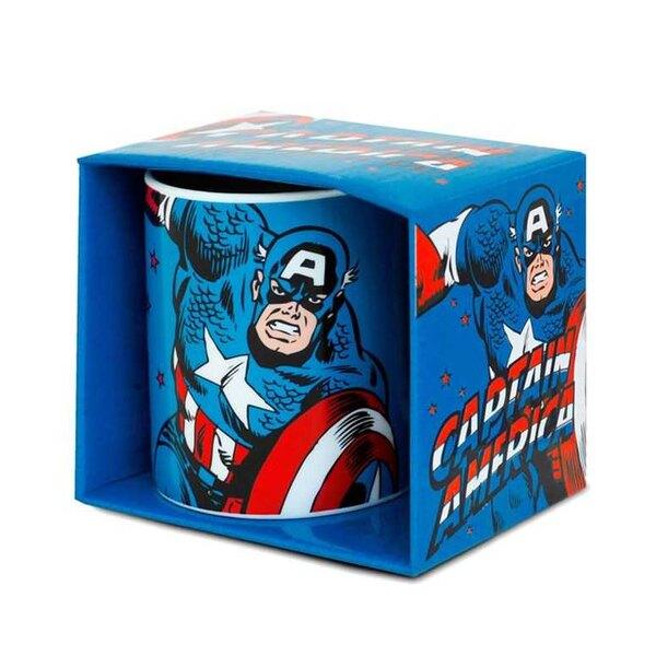 Taza Marvel Capitán América Clásico