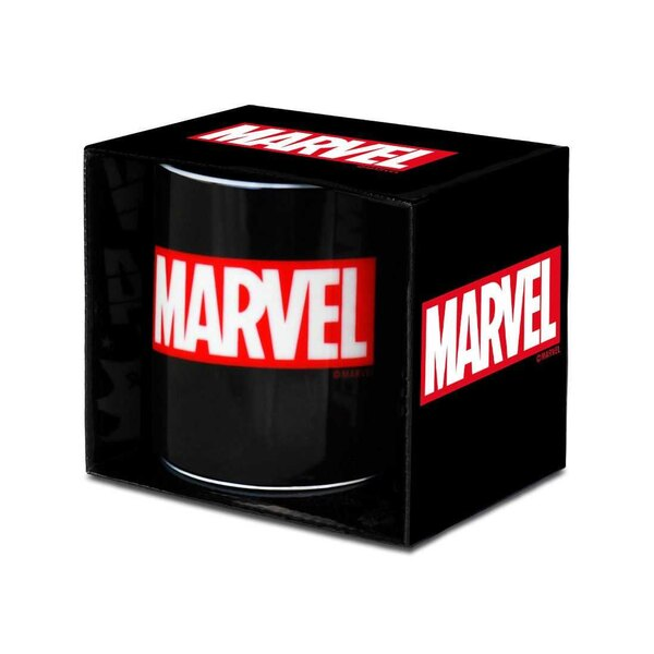 Taza Marvel Box Logo