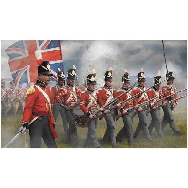 Infantería británica en ataque (era napoleónica)