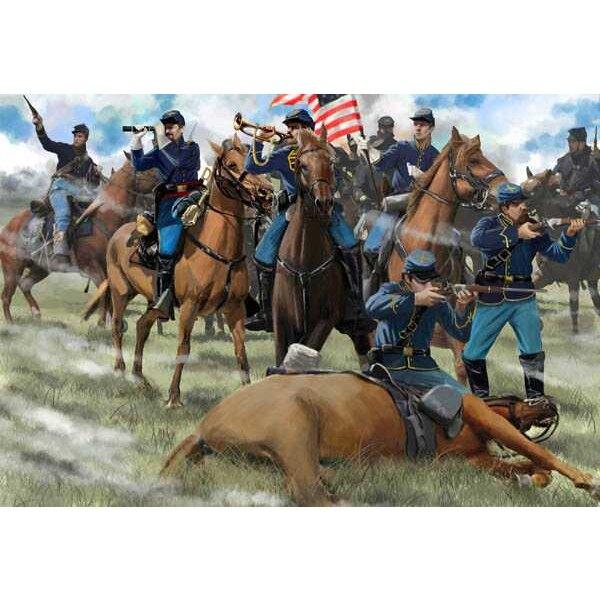 US Cavalaria Gettysburg de la unión (ACW / era americana de la guerra civil)