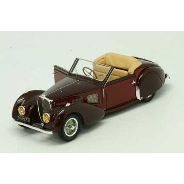 Bugatti Atalante T57SC GANGLOFF CONVERTIBLES 1937 SN57533