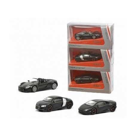 72 negro Schuco Porsche Carrera GT nuevo modelo de coches 1