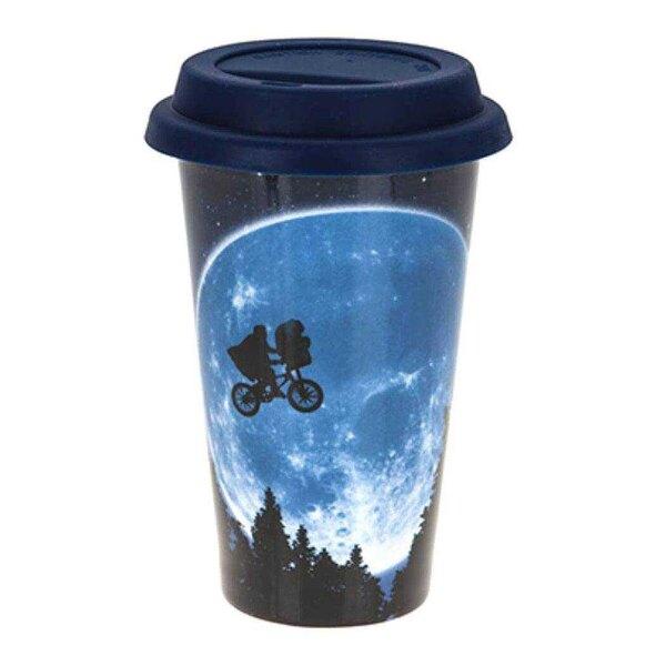 Y la taza de viaje extraterrestre de la luna.