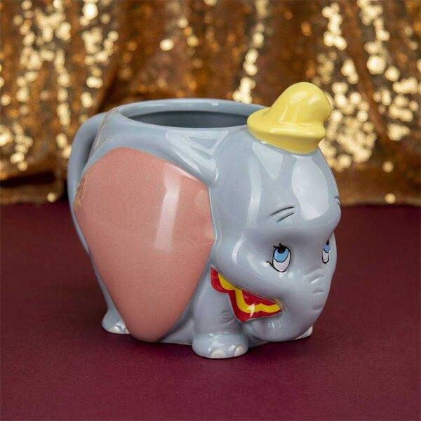 Taza de Disney en forma de Dumbo 13 cm.