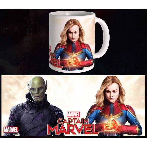 Capitán Marvel Mug Duel