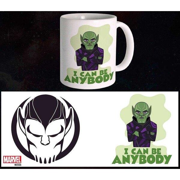 Taza de Capitán Marvel Cualquiera