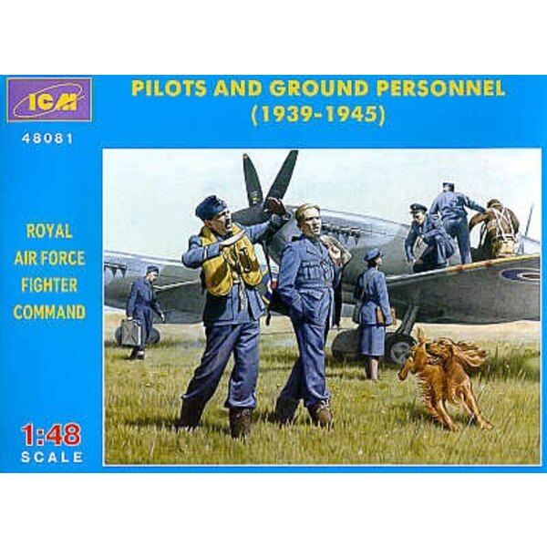 RAF Pilots and Ground Personnel 1939-1945