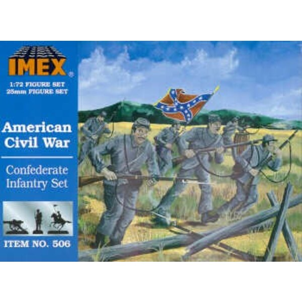 Confederate Infantry (American Civil War) (ACW)