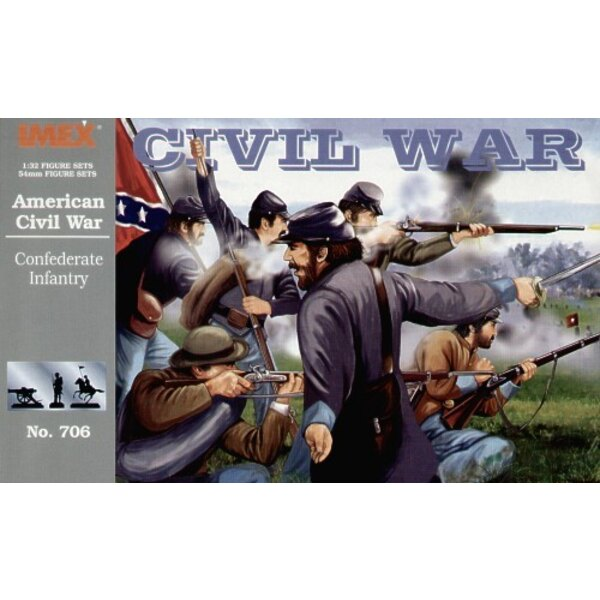 Confederate Infantry Set (American Civil War) (ACW)