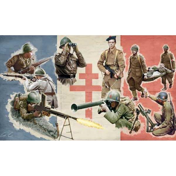 Infantería de segunda generación FFL