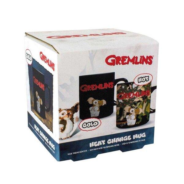 Taza de efecto térmico Gremlins Gizmo & Logo
